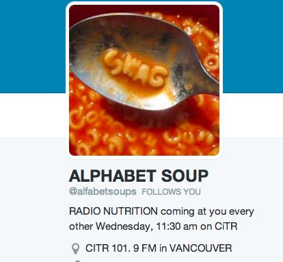 Alphabet Soup on CiTR