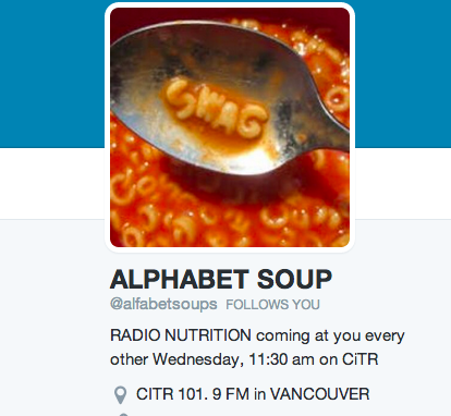 Alphabet Soup on CiTR