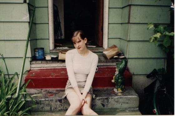 Sierra Skye Gemma, punk as fuck, circa 1995.